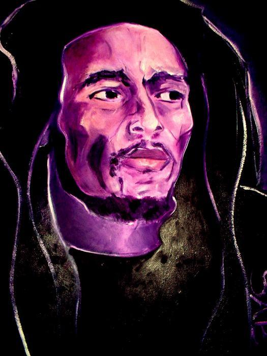 Bob Marley by Adjabroux